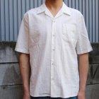 More photos2: ソフトリネンコットンキャンバスオープンカラー ルーズフィットシャツ【MADE IN JAPAN】『日本製』/ Upscape Audience