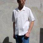 More photos1: ソフトリネンコットンキャンバスオープンカラー ルーズフィットシャツ【MADE IN JAPAN】『日本製』/ Upscape Audience