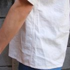 More photos3: ソフトリネンコットンキャンバスオープンカラー ルーズフィットシャツ【MADE IN JAPAN】『日本製』/ Upscape Audience