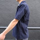 More photos3: コットンシアサッカーオープンカラーシャツJKT『日本製』/ Upscape Audience