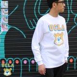 """UCLA""""UCLA BERA"""" 6oz米綿丸胴L/S Tee/ Audience"""
