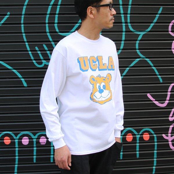 "画像2: UCLA""UCLA BERA"" 6oz米綿丸胴L/S Tee/ Audience"