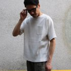More photos2: 度詰ワッフル ヘムラウンドポケTEE【MADE IN JAPAN】『日本製』/ Upscape Audience