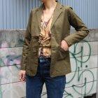More photos3: コットンリネンストレッチ2Bクラークジャケット[Lady's] 『日本製』【送料無料】  / Upscape Audience