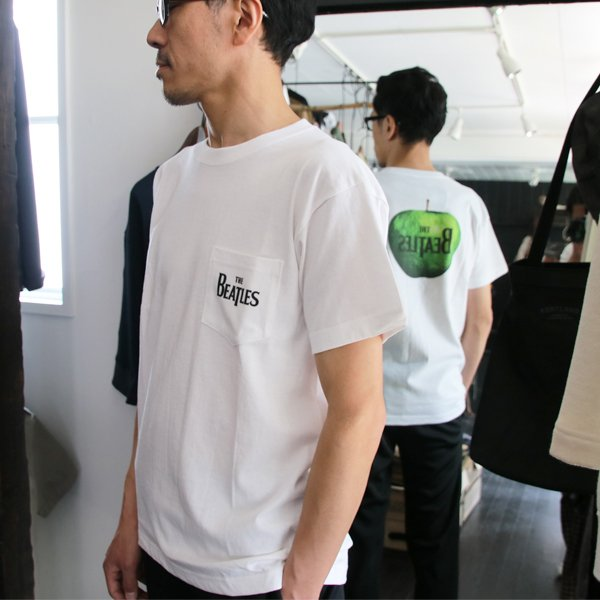 """画像2: ビートルズ """"グリーンApple""""ポケットTEE /【Audience】"""