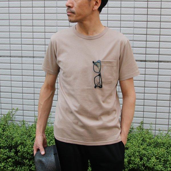 画像2: コーマ天竺クルーネックグラスポケット付き半袖Tee【MADE IN JAPAN】『日本製』/ Upscape Audience