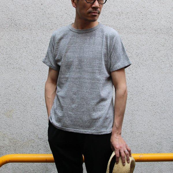 画像2: 吊り編み天竺ロールアップ オーバーサイズ C/N S/S Tee【MADE IN TOKYO】『東京製』/ Upscape Audience