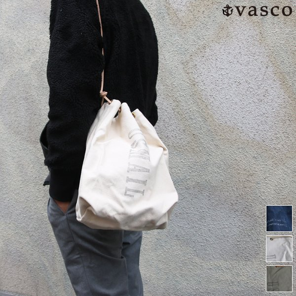 画像1: CANVAS DOMESTIC MAIL PORSE BAG  / VASCO