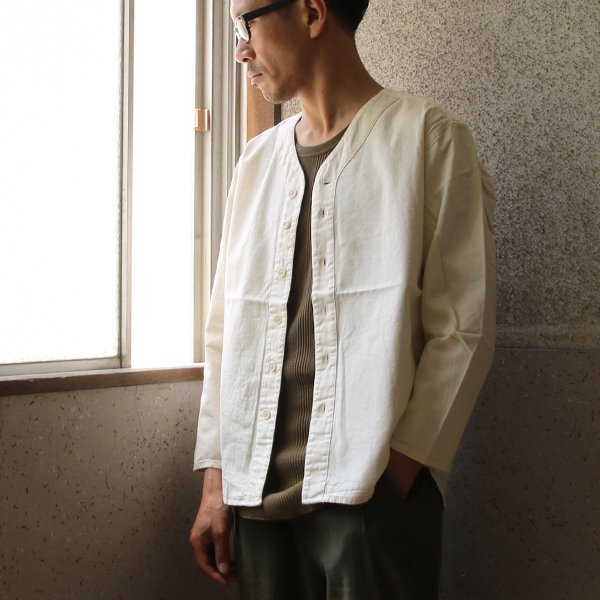 画像2: オックスベースボール9分袖ライト/Jacket【MADE IN JAPAN】『日本製』/ Upscape Audience