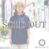 コットンクロス アノラックパーカーシャツ【MADE IN JAPAN】『日本製』/ Upscape Audience