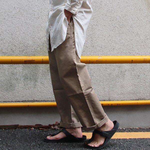 画像2: ワーカーズチノワイドインステップカットパンツ【MADE IN JAPAN】『日本製』【送料無料】/ Upscape Audience