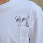 More photos1: EggSand BY Doodles×RIDING HI Print  S/S Tee(DRINKER)