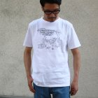 More photos2: EggSand BY Doodles×RIDING HI Print  S/S Tee(HOLIDAYS BEST)