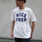More photos2: Riding High / CULTURE FLOCKY PRINT S/S TEE(NICE PREP)【MADE IN JAPAN】『日本製』