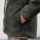 More photos3: 【イタリアンファブリック】トスカーナボア スナップジャケット【MADE IN JAPAN】『日本製』【送料無料】/ Upscape Audience【ご予約商品・11月上旬入荷予定】