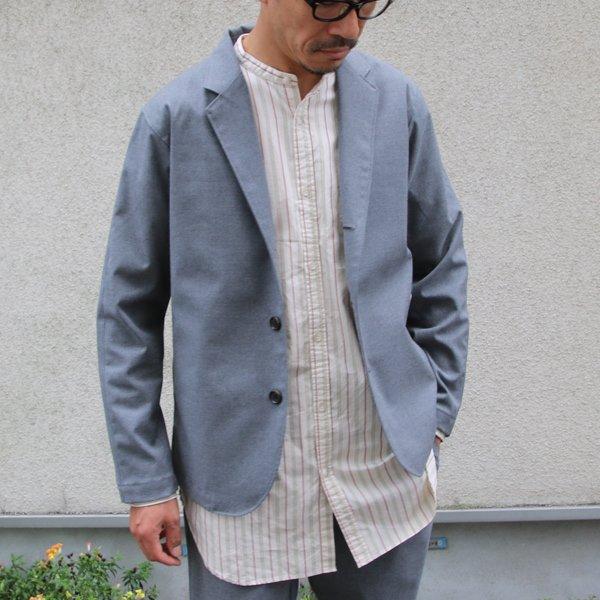 画像2: ギャバジンストレッチ 3ピース リラックステーラードジャケット【MADE IN JAPAN】『日本製』 / Upscape Audience【ご予約・10月上旬予定】