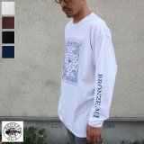 BRONZE AGE(ブロンズエイジ)16/-天竺 プリント L/S TEE/ Audience