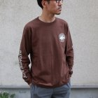 More photos1: BRONZE AGE(ブロンズエイジ)16/-天竺 プリント L/S TEE/ Audience