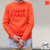 Riding High / フロッキープリントCrew Sweat L/S(R193-0306)【MADE IN JAPAN】【送料無料】