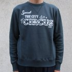 More photos2: Riding High / フロッキープリントCrew Sweat L/S(R193-0306)【MADE IN JAPAN】【送料無料】