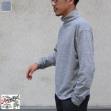 Riding High / LOOPWHEEL HIGH NECK L/S TEE(R185-0106B)【MADE IN JAPAN】『日本製』