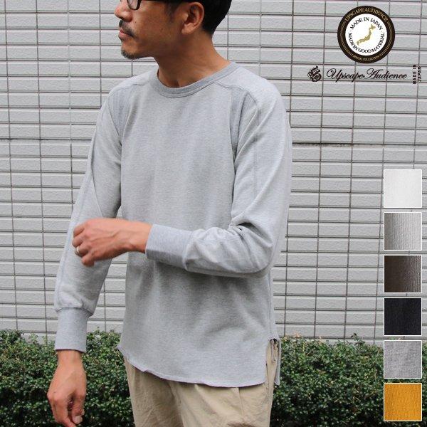 画像1: BSQ天竺スプリットスリーブ9/S Tee【MADE IN JAPAN】『日本製』/ Upscape Audience
