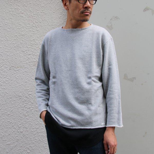 画像2: 30/10吊編裏毛 Vガゼット カットオフ スウェット【MADE IN TOKYO】『東京製』/ Upscape Audience