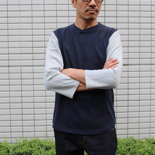 画像2: BSQソリッドBBアンダー7分袖カットソー【MADE IN JAPAN】『日本製』/ Upscape Audience