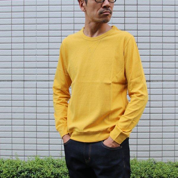 画像2: ラフィー天竺オールドディティールクルーネック長袖カットソー【MADE IN JAPAN】『日本製』/ Upscape Audience