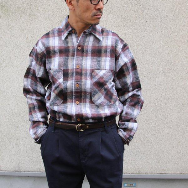 画像2: BIGMAC (ビッグマック) フランネルチェックシャツ【MADE IN U.S.A】『米国製』/ デッドストック