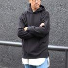 More photos3: ボンバーヒート爆暖裏起毛 ビッグプルパーカー【MADE IN JAPAN】『日本製 / Upscape Audience