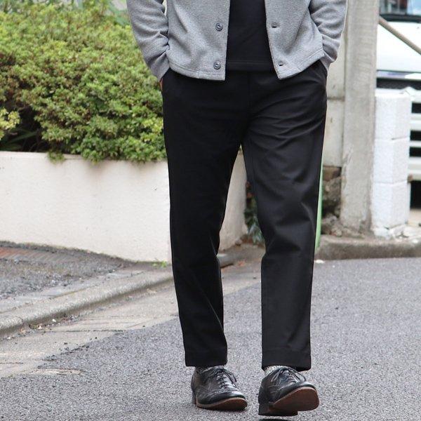 画像2: ギャバジンストレッチ イージー テーパードイージーアンクルパンツ【MADE IN JAPAN】『日本製』 / Upscape Audience