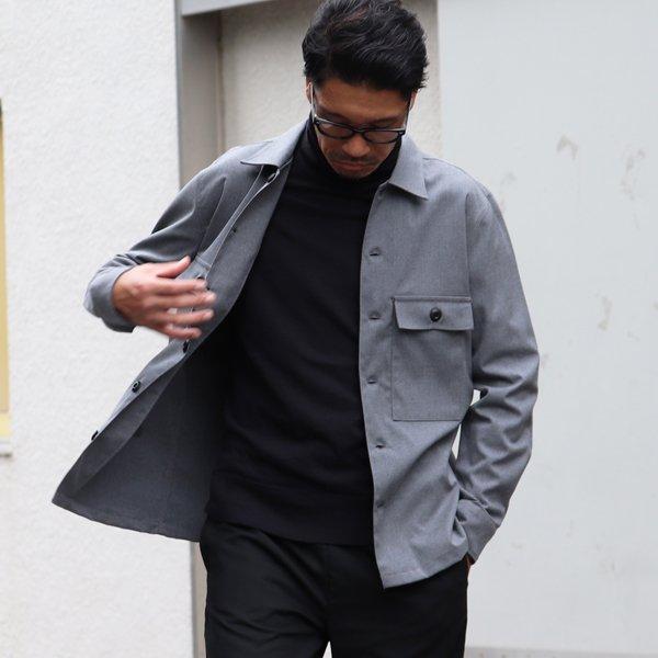 画像2: ギャバジンストレッチ M-45ジャケット【MADE IN JAPAN】『日本製』 / Upscape Audience