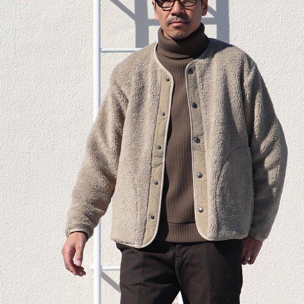画像2: 【イタリアンファブリック】トスカーナボア スナップジャケット【MADE IN JAPAN】『日本製』【送料無料】/ Upscape Audience