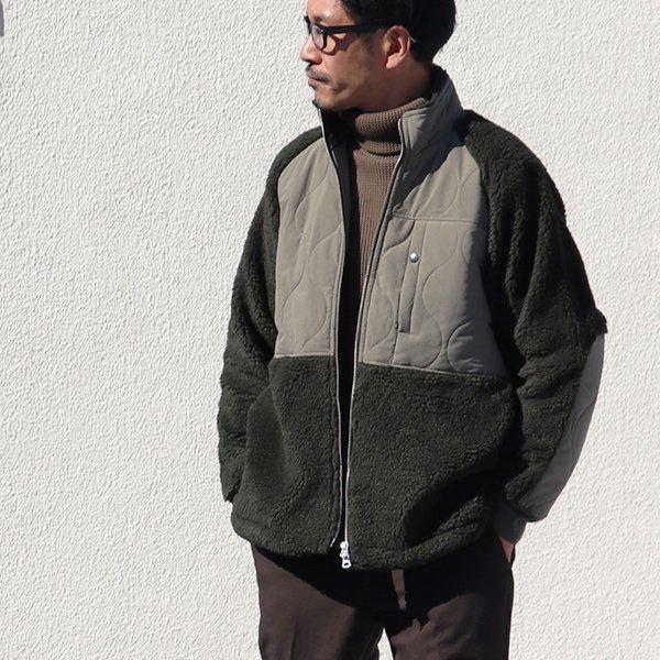 画像2: 【イタリアンファブリック】トスカーナボア ラグラン スタンドZIP ジャケット【MADE IN JAPAN】『日本製』【送料無料】/ Upscape Audience