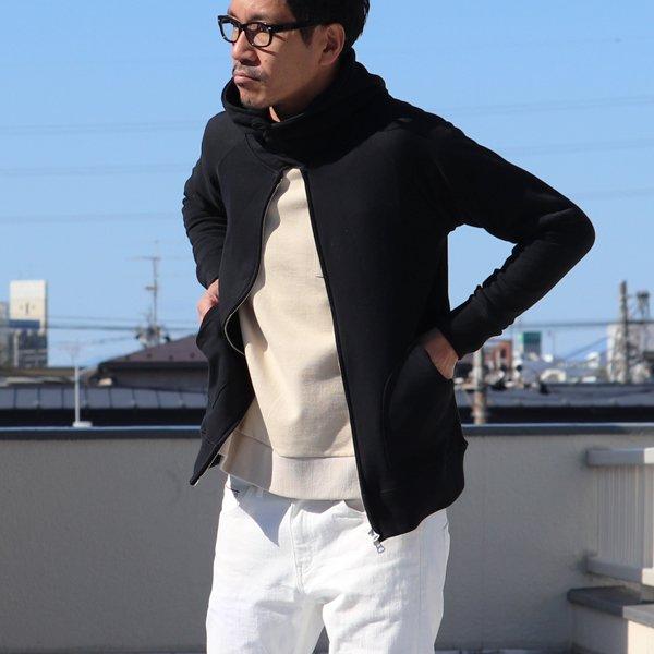 画像2: ソフトエアー裏毛3ボタンフードZIPパーカー【MADE IN JAPAN】『日本製』【送料無料】/ Upscape Audience