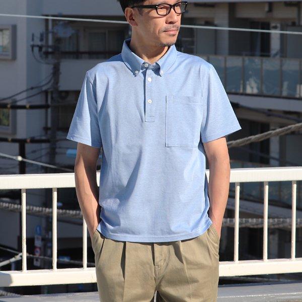 画像2: Sorbtekカノコ ボタンダウン Bigポケット ポロシャツ【MADE IN JAPAN】『日本製』/ Upscape Audience【ご予約・2020年4月上旬入荷予定】