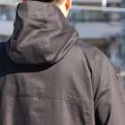More photos2: グロッシーツイル ガーデニングツールポケット アノラックハーフZIPパーカー【MADE IN JAPAN】『日本製』【送料無料】/ Upscape Audience