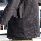 More photos3: グロッシーツイル ガーデニングツールポケット アノラックハーフZIPパーカー【MADE IN JAPAN】『日本製』【送料無料】/ Upscape Audience