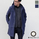 【RE PRICE / 価格改定】ヨコムラバックサテンスタンドモッズCoat【MADE IN JAPAN】『日本製』【送料無料】  / Upscape Audience
