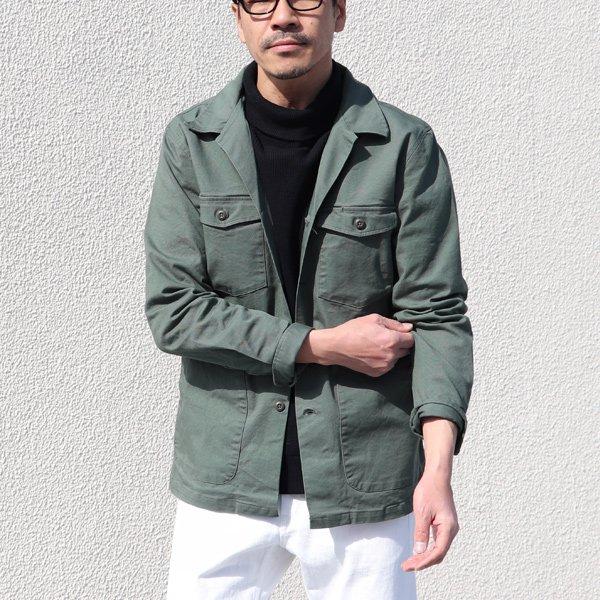 画像2: グリストーンW 高密度オックスストレッチ ファティーグジャケット【MADE IN JAPAN】『日本製』/ Upscape Audience