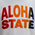 More photos1: Riding High / 12/-JERSEY FLOCKY PRINT S/S TEE (ALOHA)【MADE IN JAPAN】『日本製』