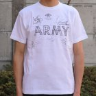 More photos1: RIDING HIGH×EGG SNDWCH LABEL/ HANDWRITING STYLE PRINT TEE(MARINES)