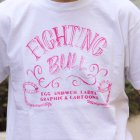More photos1: RIDING HIGH×EGG SNDWCH LABEL/ HANDWRITING STYLE PRINT TEE(FIGHTING)