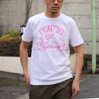 More photos2: RIDING HIGH×EGG SNDWCH LABEL/ HANDWRITING STYLE PRINT TEE(FIGHTING)