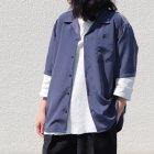 More photos3: レーヨンライク ピーチファイユ オープンカラー ルーズフィットシャツ[Lady's]【MADE IN JAPAN】『日本製』/ Upscape Audience
