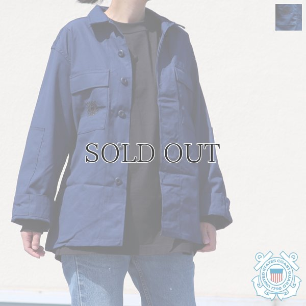 画像1: US COAST GUARD OPERATIONAL DRESS COAT/ デッドストック