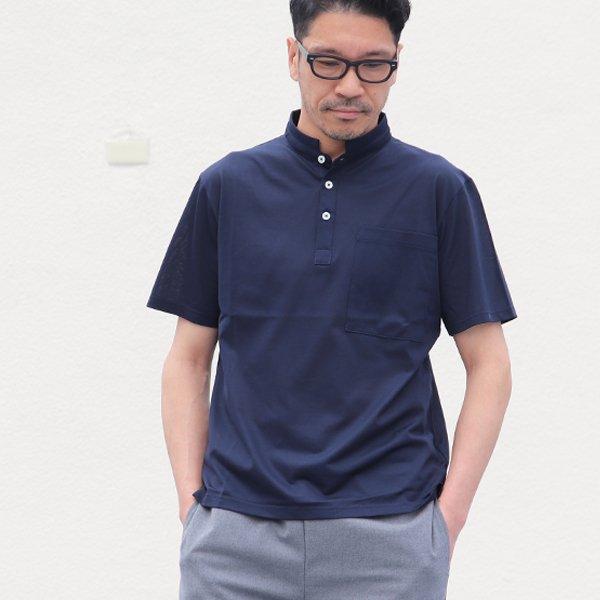 画像2: Sorbtekカノコ スモールスタンドカラー Bigポケット ポロシャツ【MADE IN JAPAN】『日本製』/ Upscape Audience