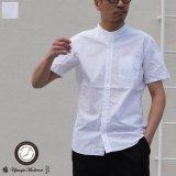コーマタイプライターバンドカラーS/Sシャツ【MADE IN JAPAN】『日本製』/ Upscape Audience