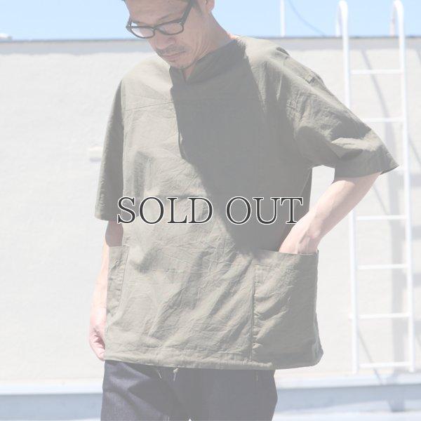 画像2: ミラクルコットンダンガリー  ツールポケ キーネック ビッグTシャツ『日本製』Upscape Audience